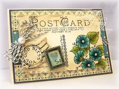 SC382 Vintage Morning Glory by bfinlay - Cards and Paper Crafts at Splitcoaststampers
