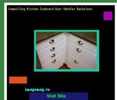 Compelling Kitchen Cupboard Door Handles Backplate 075924 - The Best Image Search