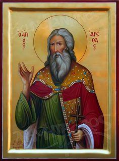 Φωτογραφία:        Άγιος Αρέθας ο Μεγαλομάρτυρας Saint Arethas the Great Martyr  Τμηθείς, Θεώ προσήξε Μάρτυς Αρέθας, Πολλοὺς ομοίως Μάρτυρας τετμημένους. Αρέθα εικάδι συν γνωστοίσι τετάρτῃ τμήθης.  Βιογραφία Ήταν ένας από τους προύχοντες της πόλεως Νεγράς στην Αιθιοπία επί εποχής Ιουστίνου (518 – 527 μ.Χ.), Ελεσβάαν του Χριστιανού βασιλιά της Αιθιοπίας και Δουναάν του Εβραίου βασιλιά της Ομηρίτιδος. Όταν ο βασιλιάς της Αιθιοπίας Ελεσβάαν καθυπέταξε τον Εβραίο βασιλιά Δουναάν… Gustave Dore, Byzantine Art, Orthodox Christianity, Art Icon, Orthodox Icons, Roman Catholic, Saints, Artwork, Painting