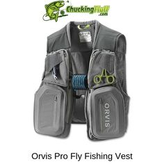 Best Vest for Fly Fishing 2019 - Buyers Guide and Comparison Fishing Vest, Fly Fishing Tips, Fishing Knots, Fishing Life, Sport Fishing, Fishing Tricks, Women Fishing, Fishing Tackle, Walleye Fishing