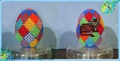 Пасхальное яйцо из бисера схемы