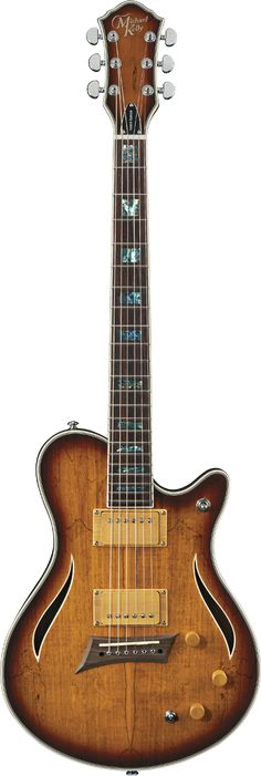 MICHAEL KELLY Hybrid Special Spalted Burst Top
