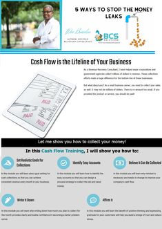 💜 Cash Flow is the Lifeline of Your Business ✍ 5 Ways To Stop The Money Leaks