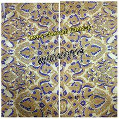 Shervani fabric