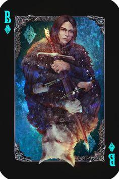 ArtStation - Jon Snow, Maria_ Roklain
