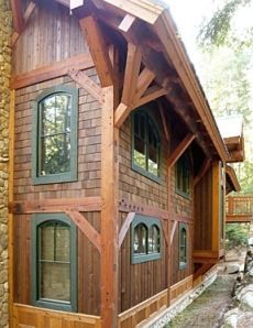 1000 images about trim deck colors on pinterest cabin for Log cabin window trim