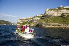 Sur le port de plaisance de Bonifacio, la confréries des pêcheurs de Saint-Erasme  Crédit-photos: Eric Volto