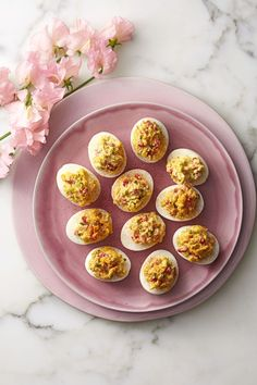 Appetizer: Pimiento-Cheese Deviled Eggsgoodhousemag