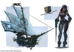 Sheharzad-Arshad 846 47 pirate ship ...