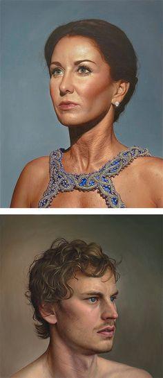 hyperréalisme d'hier et aujourd'hui: Peinture