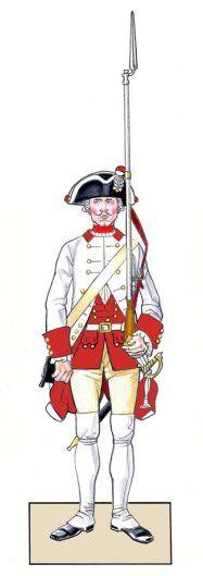 Königin Infantry - Project Seven Years War