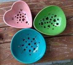 pretty berry bowls
