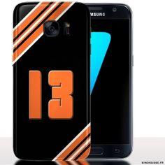 Coque téléphone Samsung S7 Marseille Numero 13   Housse S7.  SamsungS7   Numero   3e138fbd2764