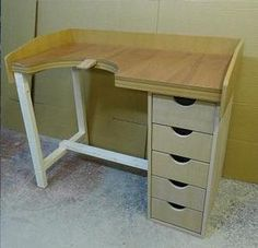 JEWELLERS BENCH, JEWELLERY BENCH, HAND MADE NEW