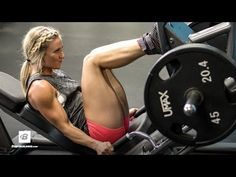Glutes For Her | IFBB Bikini Pro Amy Updike's Lower Body Workout - YouTube