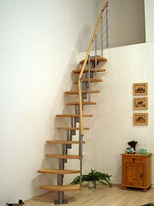 Dolle Rome Space Saver Staircase