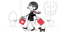 Me gusta ir de compras, no tener que comprar.