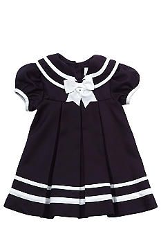 *Rare Editions Pleated Sailor Dress