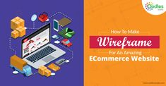 A wireframe of a website is a visual design model which showcase texts, vertices, and boxes. Moreover, it's also very cost effective and pretty easier to amend and remove things from a wireframe than a website. This blog reveals how you can make an ecommerce website wireframe design.