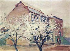 "Martiros Saryan -  ""Spring in my garden"" 1945"