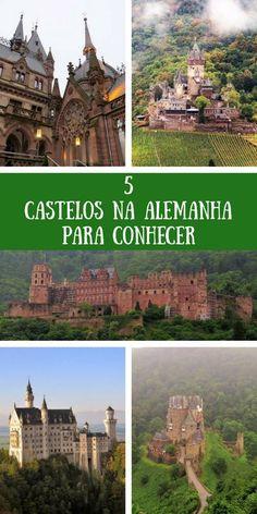 5 castelos de contos de fadas para conhecer na Alemanha. Castelo Drachenburg, Castelo Reichsburg, Castelo de Heidelberg, Castelo Burg Eltz, Castelo Neuschwanstein