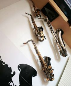 sax on the wall