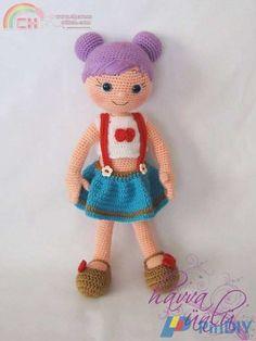 Purple Hair Doll