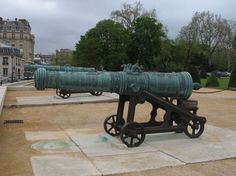 18th Century French Cannons