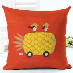 Pattern Type: Plant Technics: Handmade Material: Linen / Cotton Use: Seat, Home, Decorative, Chair, Car, Other Pattern: Printed Shape: Square Style: Fashion Size : 43X43cm Pattern : Floral