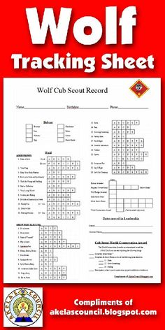 Need a way to track WOLF, Arrow Points, Progress Towards Rank beads, and Gold & Silver Arrow Points requirements? This is a great PRINTABLE Tracking sheet. This site has other tracking sheets Cub Scouts Wolf, Tiger Scouts, Cub Scout Crafts, Cub Scout Activities, Scout Mom, Girl Scouts, Scouts Of America, Scout Camping, Learning
