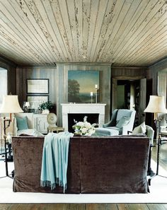 pecky cypress plank ceiling by mcalpine tankersley