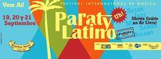 O festival Paraty Latino, maior evento do gênero no país, chega a 4ª. edição, de 19 a 21 de setembro, com mais uma série de atrações internacionais e nacionais, que apresentam várias facetas desse grande universo musical, da música brasileira aos ritmos dançantes do Caribe, passando pelo ecletismo e o frescor da cultura latino americana do argentino Kevin Johansen. #ParatyLatino #FestivalDeMúsica #MúsicaLatina #JesusAlemañy #YanielMatos #música #cultura #turismo #Paraty #PousadaDoCareca