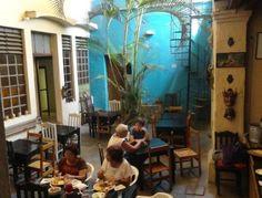El Infierno: tasty, yet hard to find Oaxaca restaurant.  Look for two chalkboards at Crestpo 210, Centro Historico, Oaxaca