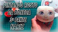 Boneca de pano, desenhar rostos e direção do olhar por Luciane Valeria - ARTES DA TIA LÚ - YouTube