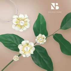 Today we still use flowers to express our feelings to others in many ways. Fragrant gardenias represent purity  – while pansies speak of remembrance, and roses of love. Nicole Barr celebrates their beauty with a garden of colorful enamel jewelry set with pearls and gemstones. Click to see the collection: http://www.nicolebarr.com/category/?rpp=48&collection=Floral&material=Sterling%2BSilver