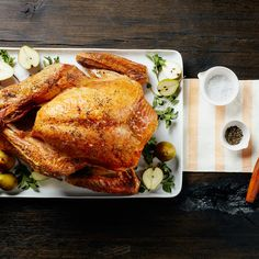 The Simplest, Easiest Way to Cook a Turkey | Epicurious.com