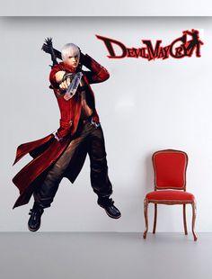 Adesivo de Parede Games - Devil May Cry