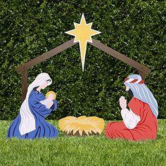 Outdoor Nativity Store Classic Outdoor Nativity Set - Holy Family Yard Scene