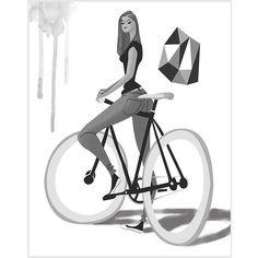 #велосипед #девушка http://iconosquare.com/viewer.php