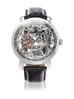 Lindberg & Sons Automatikuhr Man Automatic Watch With Skeleton Dial 43.0 mm