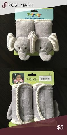Elephant seatbelt covers Elephant seatbelt covers for baby car seat. 0 months+ Kellybaby Accessories