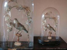 Servies en Brocante: Bird globe