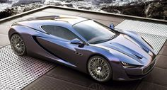 This Maserati Supercar Design Study Revives the Bora Name and Looks Sweet! - Carscoops