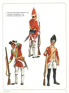 SYW- Britain: British Infantry Seven Years War, by Michael Roffe.