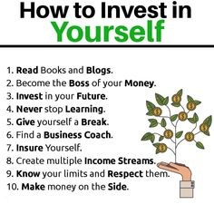 How To Invest In Yourself And Change Your Life Forever - Stock Market Tips - Ideas of Stock Market Tips - How to invest in yourself Best Books Of All Time, Good Books, Investment Tips, Investment Quotes, Never Stop Learning, Financial Tips, Financial Quotes, Magazine, Business Quotes