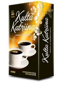 Kulta Katriina tai muu peruskahvi, ei makukahveja