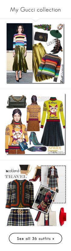 """""""My Gucci collection"""" by faten-m-h ❤ liked on Polyvore featuring Improvements, Gucci, Kansai Yamamoto, Niquesa, besttrend2016, MSGM, Marni, Scala, Laurence Dacade and Givenchy"""