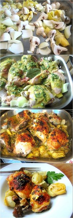 The Chew's Baked Artichoke Chicken