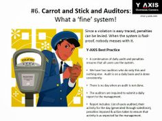 #6. Carrot and Stick and Auditors: What a 'fine' system!