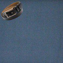 Raymond Men Trouser Fabric Blue Free Belt